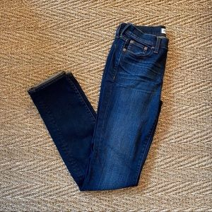 Madewell Alley Straight Denim Jeans Size 25
